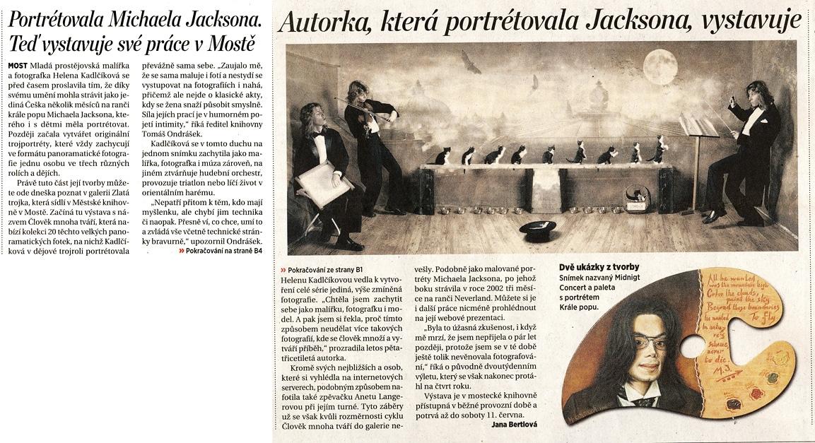 publikace, články, Helena Kadlčíková