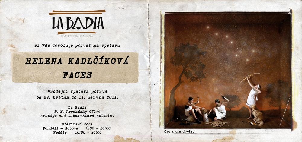 výstavy a vernisáže, Helena Kadlčíková