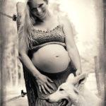 těhotenské portréty a akty